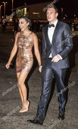 Stock Photo of Kaya Hall and Phil Jones