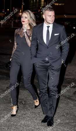 Stock Picture of Georgina Dorsett and Tom Cleverley