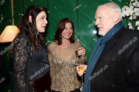 Annabel Brooks, Catherine Fairweather and David Gilmour