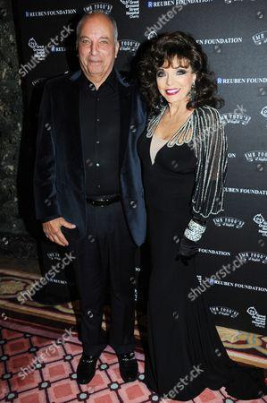 David Reuben and Joan Collins
