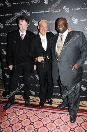 Bill Collins, Simon Reuben and Ade