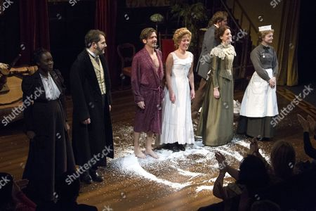 Madeline Appiah (Elizabeth), Owen Oakeshott (Mr Daldry), Jason Hughes (Dr Givings), Natalie Casey (Catherine Givings), Flora Montgomery (Sabrina Daldry) and Sarah Woodward (Annie)
