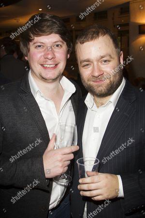 Stock Image of Oli Sones and Stuart Piper