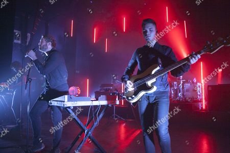 Stock Picture of Fenech Soler perform at the O2 Shepherds Bush Empire, London 21/11/13
