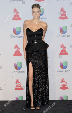 Editorial picture of 14th Annual Latin Grammy Awards, Las Vegas, America - 21 Nov 2013