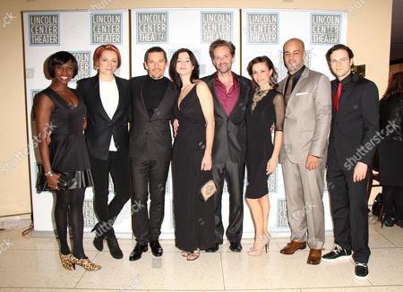 Stock Photo of Shirine Barb, Francesca Faridany, Ethan Hawke, Bianca Amato, Malcolm Gets, Stephanie Fieger, Austin Durant, Jonny Orsini