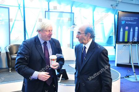 Boris Johnson and Joel Klein