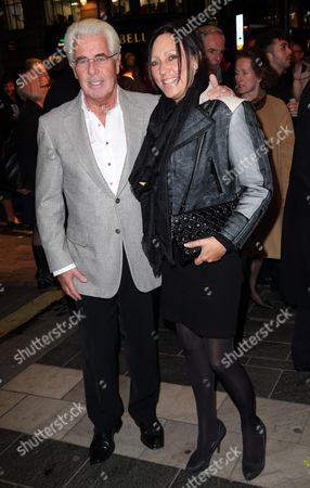 Max Clifford and wife Jo Westwood