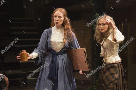 Emma West as Lizzie Siddal and Jayne Wisener as Annie Miller