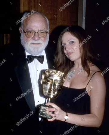 Saul Zaentz after being awarded a BAFTA Fellowship, London, Britain