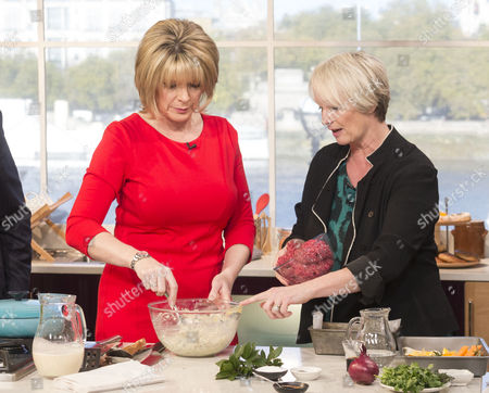 Ruth Langsford with Lesley Waters