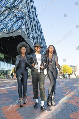 Cleo Higgins, Dak as Michael Jackson, and Rachel Adedeji