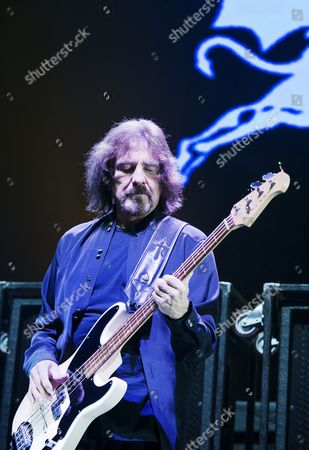 Stock Photo of Geezer Butlers - Black Sabbath