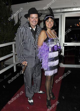 Stock Image of Tricia Penrose and husband Mark Simpkin