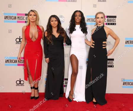 Aubrey O'Day, Andrea Fimbres, Dawn Richards and Shannon Bex of Danity Kane