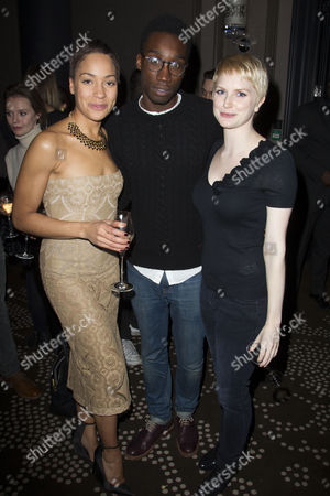 Stock Image of Louise Dylan, Nathan Stewart-Jarrett and Louise Dylan