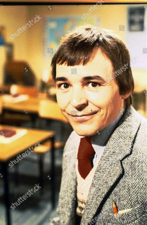Stock Picture of BARRY EVANS IN THE TV PROGRAMME MIND YOUR LANGUAGE 1979