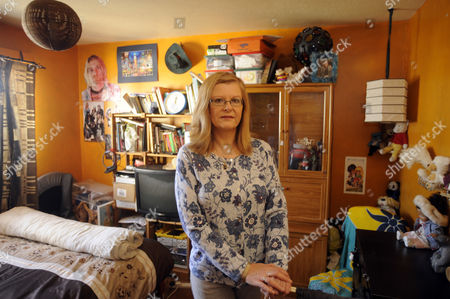 Stock Picture of Ingrid Loyau-Kennett in her daughter's old bedroom