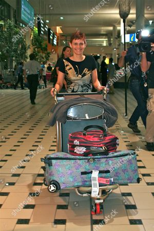 Editorial picture of 'I'm a Celebrity Get Me Out of Here' TV show arrivals, Brisbane International Airport, Australia - 25 Nov 2013