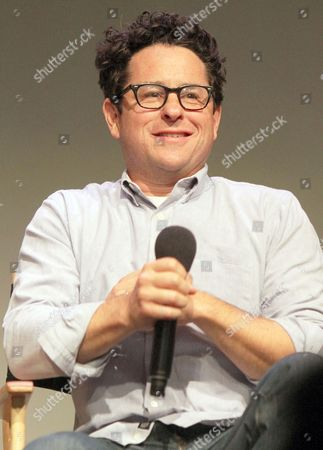 Editorial picture of Meet the Authors: J.J. Abrams and Doug Dorst discussing 'S', The Apple Store Soho, New York, America - 22 Nov 2013