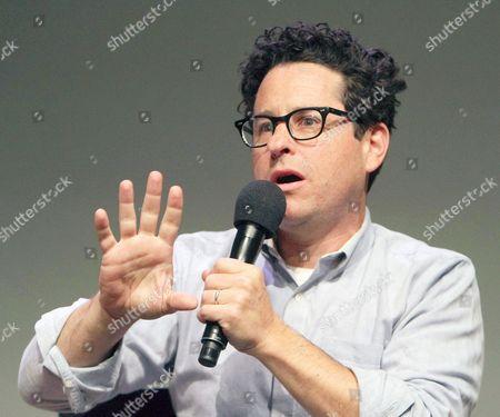 Stock Image of J J Abrams