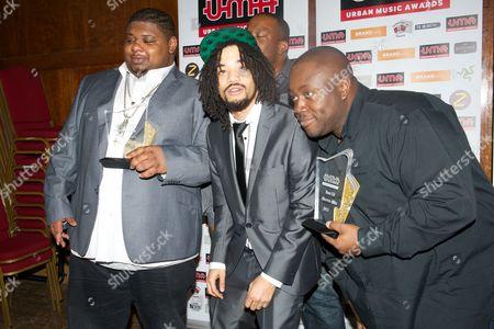 Editorial image of Urban Music Awards, London, Britain - 22 Nov 2013