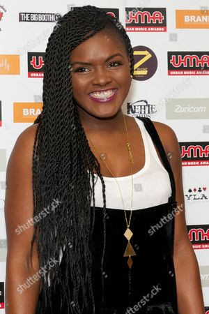 Editorial picture of Urban Music Awards, London, Britain - 22 Nov 2013
