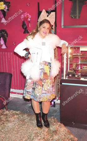 Editorial image of Celebrities at the Mama Brown Pop-Up Shop in Chelsea, London, Britain - 25 Nov 2013