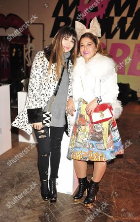 Editorial picture of Celebrities at the Mama Brown Pop-Up Shop in Chelsea, London, Britain - 25 Nov 2013