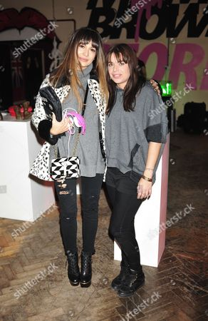 Editorial photo of Celebrities at the Mama Brown Pop-Up Shop in Chelsea, London, Britain - 25 Nov 2013