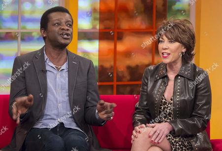 Stephen K Amos and Kathy Lette