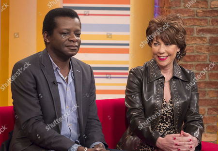 Stock Image of Stephen K Amos and Kathy Lette