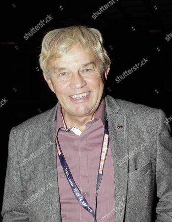 Frazer Hines arriving for the Dr Who 50th Anniversary Party