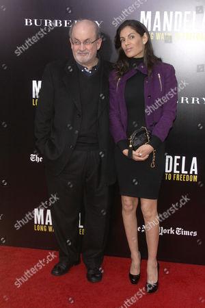 Stock Image of Salman Rushdie and Missy Brody