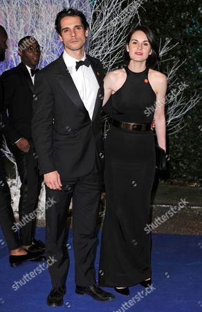 John Dineen and Michelle Dockery