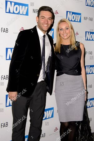 Stock Photo of Kevin Sacre and Camilla Dallerup