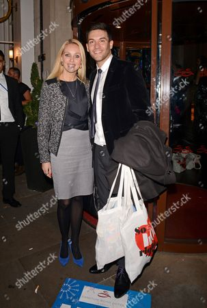 Stock Image of Camilla Dallerup and Kevin Sacre