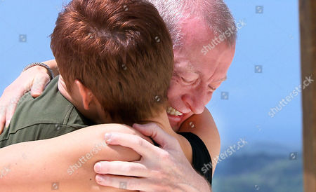 Stock Picture of Steve Davis and Jeannie Nash