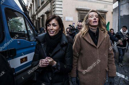 Mara Carfagna and Stefania Prestigiacomo