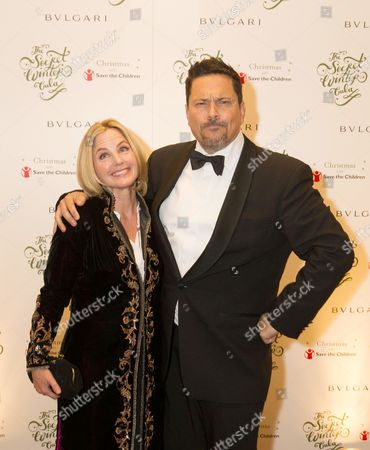 Stock Image of Dom Joly and his wife Stacey MacDougall