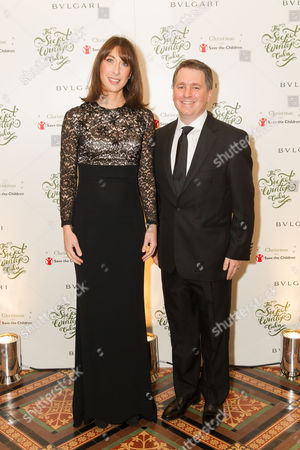 Samantha Cameron and Save the Children UK CEO Justin Forsyth