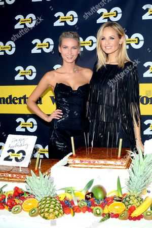 Editorial picture of 20th Anniversary of the 'Wonderbra', Paris, France - 27 Nov 2013