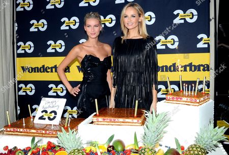Editorial image of 20th Anniversary of the 'Wonderbra', Paris, France - 27 Nov 2013