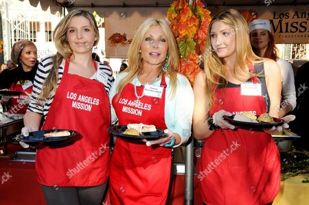 Editorial picture of Los Angeles Mission Thanksgiving Dinner, America - 27 Nov 2013