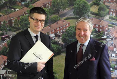 Lord Simon Wolfson and Trevor Osborne