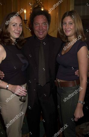 TOM JONES AND THE 3AM GIRLS JESSICA CALLAN AND POLLY GRAHAM