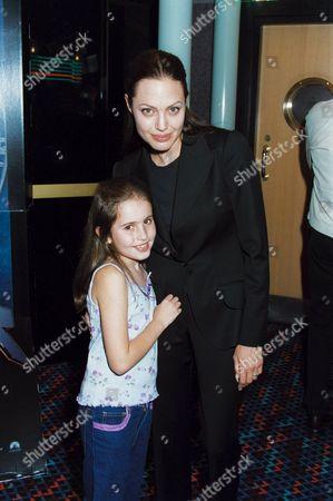 ANGELINA JOLIE AND RACHEL APPLETON, DAUGHTER OF NATALIE