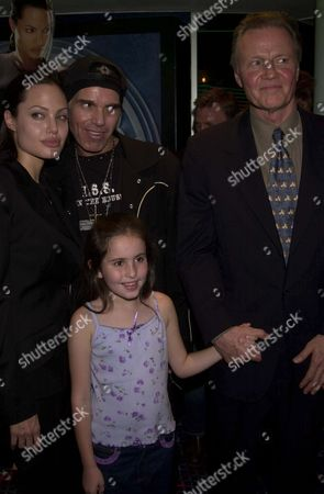 ANGELINA JOLIE WITH HUSBAND BILLY BOB THORNTON, FATHER JON VOIGHT AND RACHEL APPLETON, DAUGHTER OF NATALIE