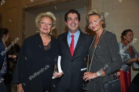Princess Beatrice of Bourbon Two Sicilies, Princess Anne of Bourbon Two Sicilies and Prince Charles Emmanuel Bourbon of Parme