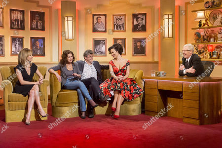 Amanda Holden, Elkie Brooks, Joe Pasquale and Immodesty Blaize with Paul O'Grady